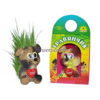 Покупайте травянчики - забавные фигурки-игрушки в форме зверей с семенами травы.