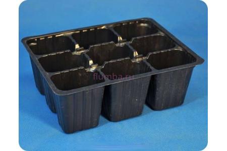 Мини-кассета для рассады на 9 ячеек пластиковая