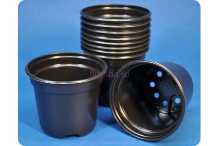Кашпо для рассады круглое пластиковое 9см х 8см