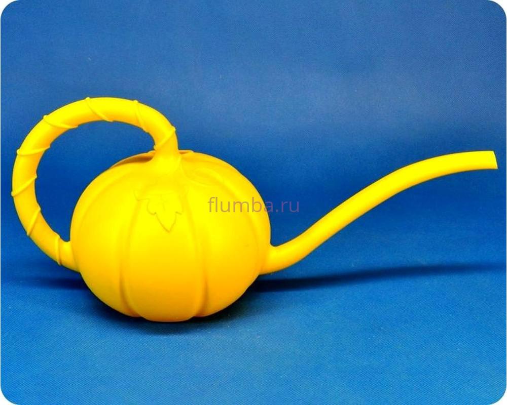 Лейка «Тыковка» 1,5л желтая м5625