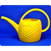 Лейка пластиковая 2.5 л. (желтая) м290